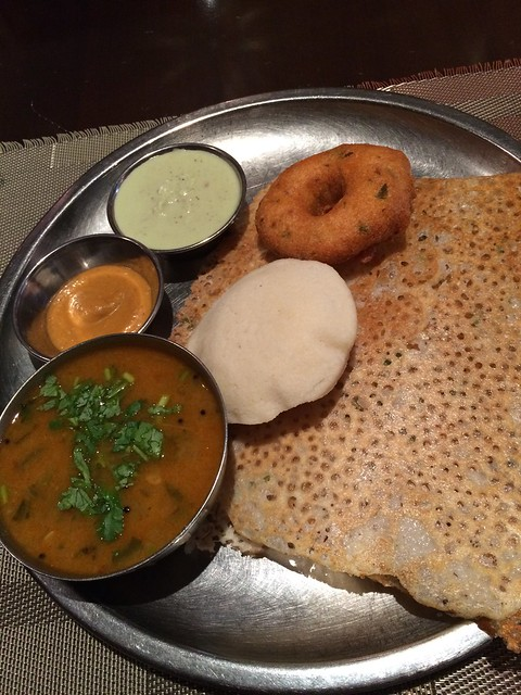 金, 2015-03-20 12:26 - Rava Dosa Lunch
