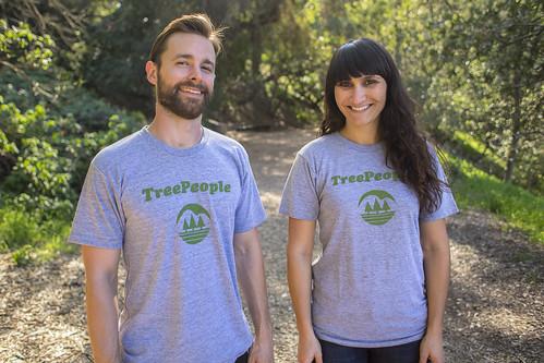 TreePeople Retro Tees