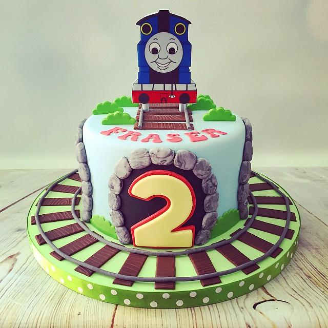 Strange Todays Cute Little Thomas The Tank Engine 2Nd Birthday Ca Flickr Personalised Birthday Cards Sponlily Jamesorg