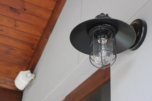 Patio Lighting Detail