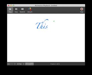GIMP Animation Playback window   by amayem