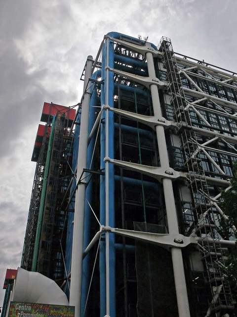 Outside Centre Pompidou