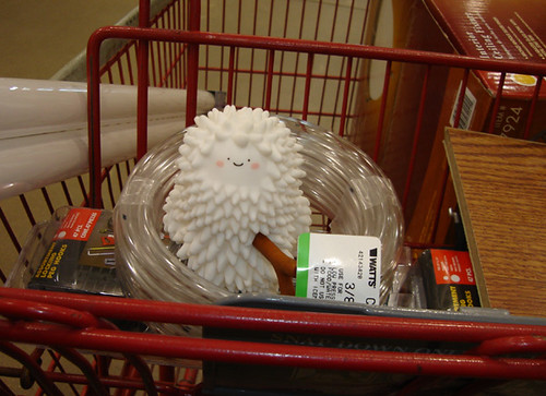 Treeson in the Cart At the Home Improvement Store   by welovethedark