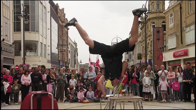 Performance on Briggate