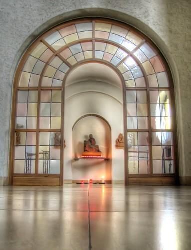 HDR: Church of the Monastry Münsterschwarzach by Dirk Paessler