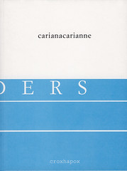 Borders<br /> CarianaCarianne<br /> ISBN 90-76593-04-3<br /> D/2006/8545/3<br /> copyright pictures CarianaCarianne & Marc Coene</p> <p>front