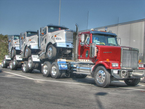 Truck with 40 Wheels ;-) by Like The Ocean