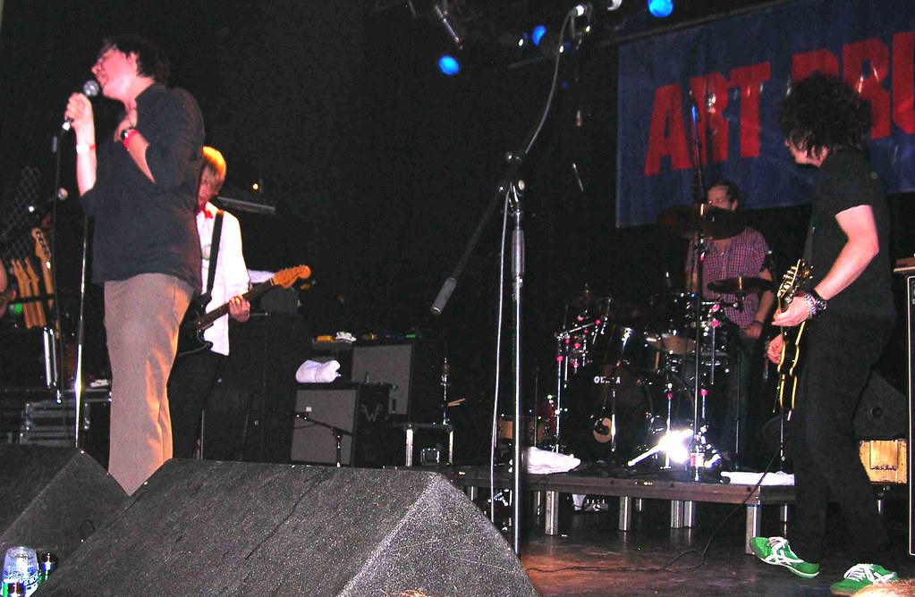Was Art Brut Spinto Band At La Tulipe Also Ran Buzz Flickr
