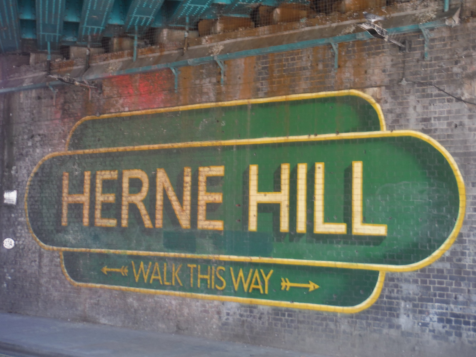 Welcome to Herne Hill! Under the Railway Bridge SWC Short Walk 39 - Brockwell Park (Herne Hill Circular or to Brixton)
