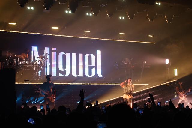 Miguel : War & Leisure Tour - Brooklyn Steel, Brooklyn (2018)