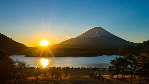 sony1635mmvariotessartfef4zaoss sonyzeiss1635f4oss asia fujisan kawaguchiko lake landscape mountfuji mountain mtfuji sel1635z shoji shojiko sony sonya7 sonyzeiss travel volcano wide wideangle minamitsurugun yamanashiken japan jp panorama sunrise sun fuji