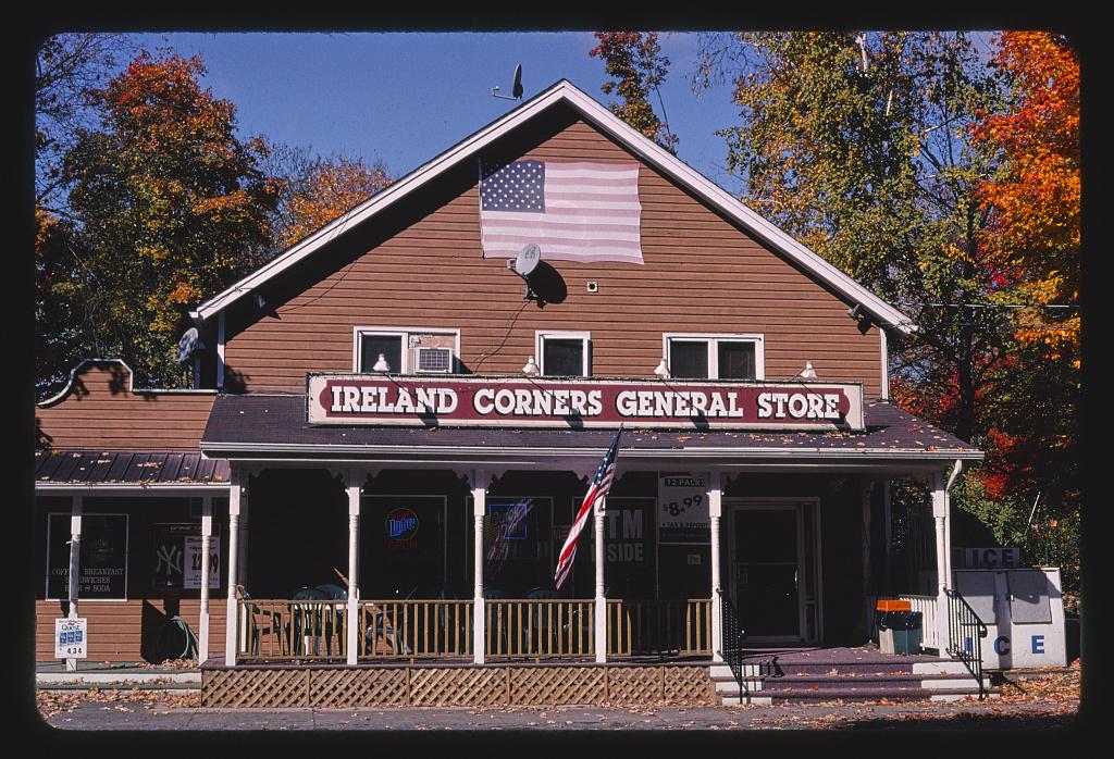 Ireland Corners General Store, Gardiner, New York (LOC)