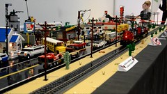 Video Footage & Slide Show of our joint Lego Route 66 Desert Layout @ Lego Convention Bricky Way 2018 in Györ / Hungary