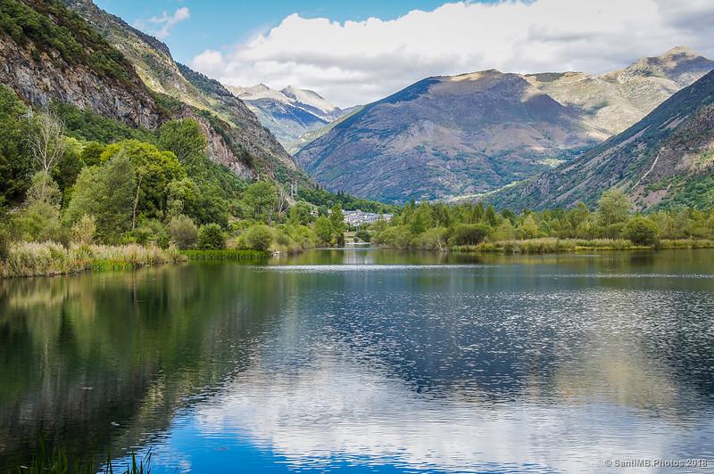 Vista de la Vall de Boí desde el Salencar de Barruera