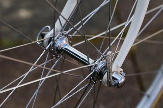 Campagnolo Steel Front Hub.