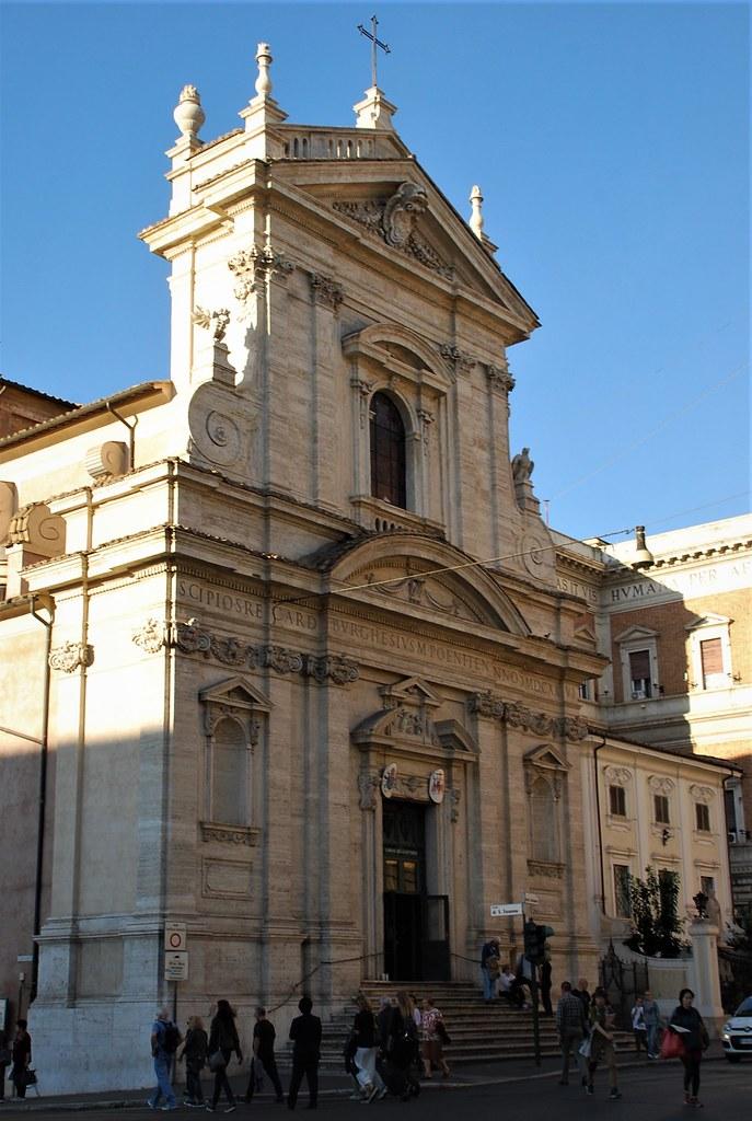 Iglesia De Santa Maria De La Victoria Roma Italia 15 10 Flickr