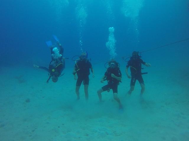 Kids Diving, Roatan