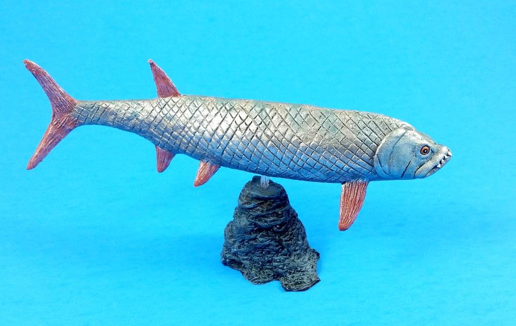 Xiphactinus audax | Scale: 1:35 Sculptor: Jesús Toledo ...