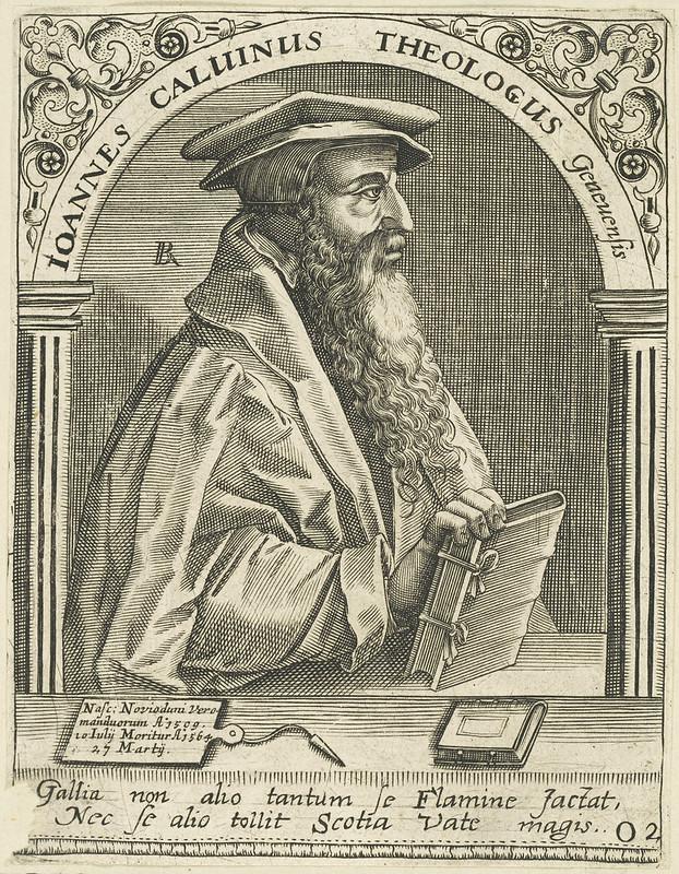 Bildnis des Ioannes Caluinus