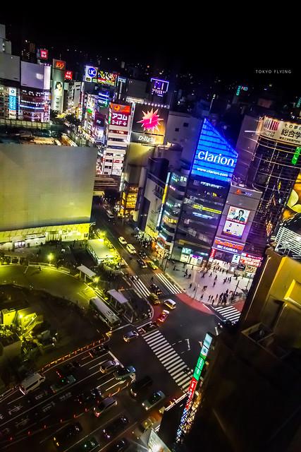 Tokyo flying