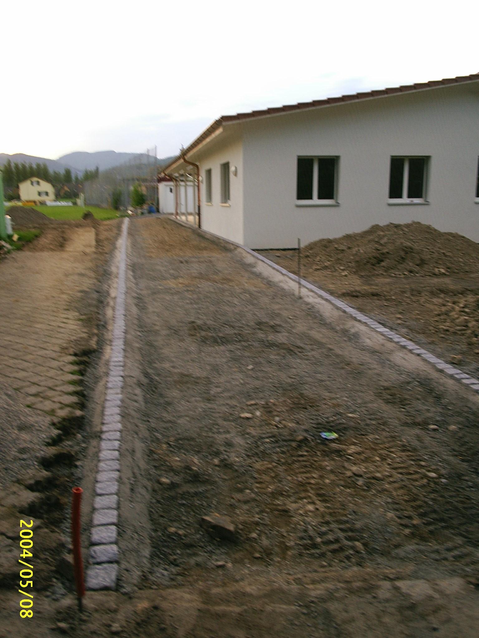 Neubau Clubhaus (17.05.2004)