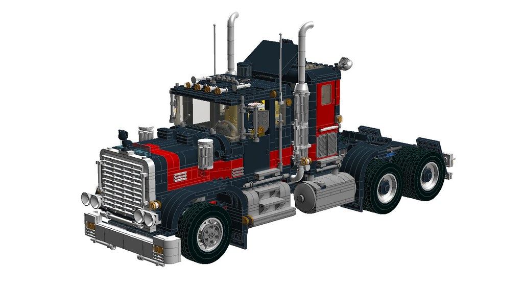 Lego Legacy Black Cat Truck Celebrating 20 Years Of The Flickr