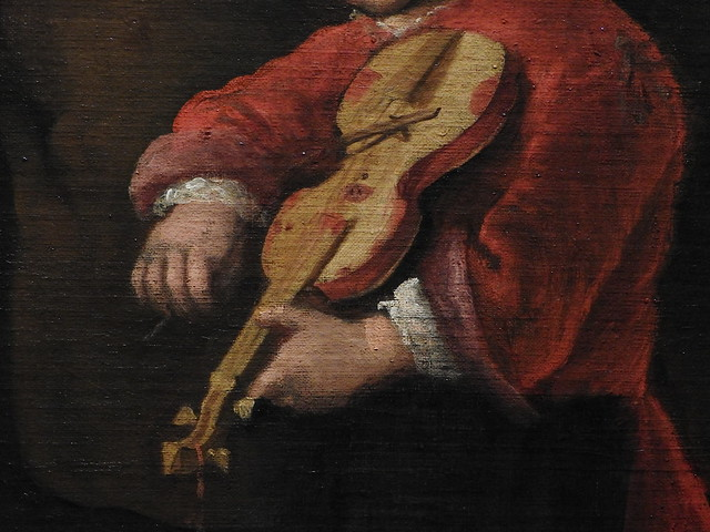 STEEN Jan,1673-75  - La Famille des Chats, Une Joyeuse Compagnie (Budapest) - Detail -k