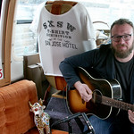 Sat, 21/03/2015 - 1:14pm - Ben Ottewell of Gomez fame joins WFUV to perform 'Rattlebag' at the Hotel San Jose, 3/21/15. Photo by Laura Fedele