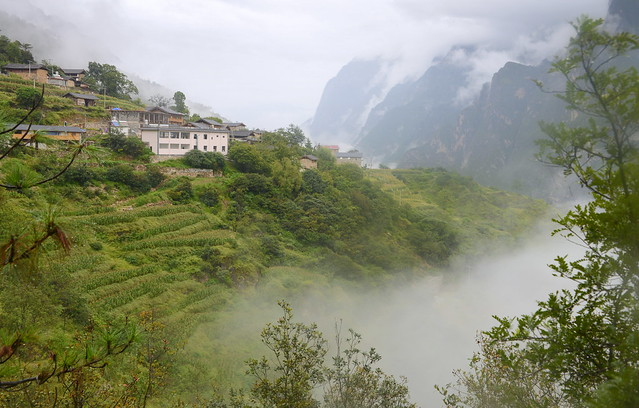 Ya Cha Village, Tiger Leaping Gorge (虎跳峡), Yunnan Province (云南省), China (中国)