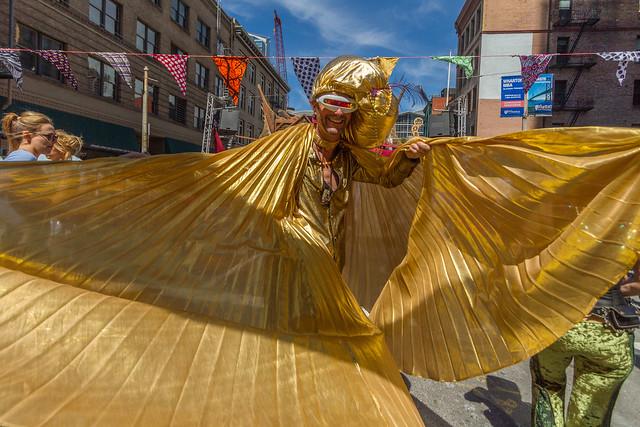 How Weird Street Faire 2015: the tinman was archaistic