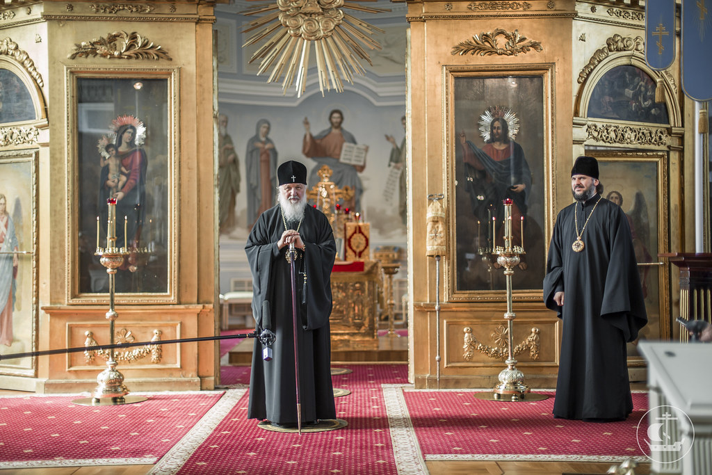 12 июля 2016, Визит Святейшего Патриарха Кирилла в Академию / 12 July 2016, The visit of His Holiness Patriarch Kirill to the Academy
