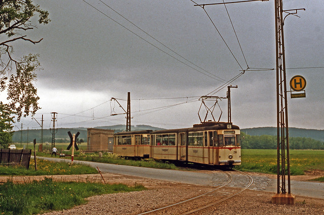 Thuringerwaldbahn Linie 4 No. 216, Friedrichrodaer Straße