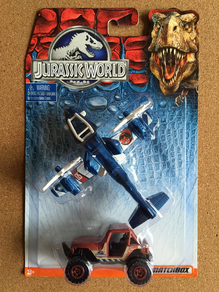 Mattel Matchbox - Jurassic World - Number DFW18 2 Pack - S