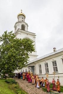 Литургия в Юрьевом монастыре 230
