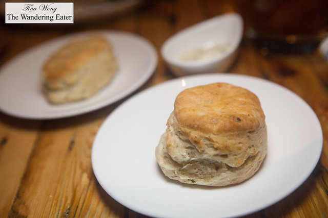 House made scallion & black pepper biscuits