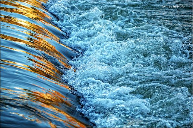 2015-012 - Reflejos al atardecer - Agua