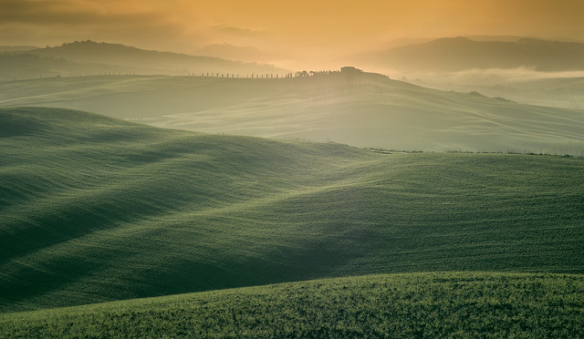 7.52 The hills of of Val D'Orcia