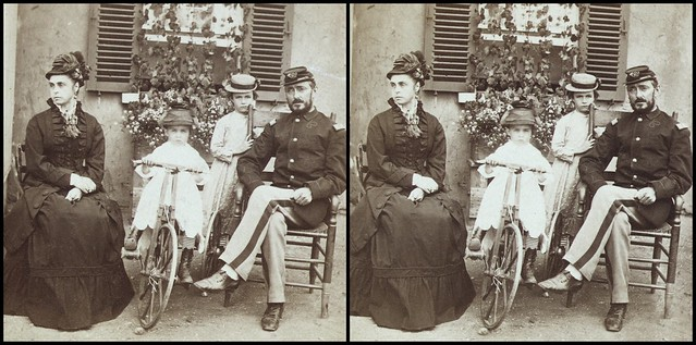 Soldier and family 1874 - 3d cross-view