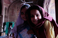 Madrassa girl giggles