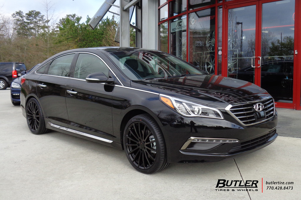 Hyundai Sonata With 19in Tsw Mallory Wheels Additional