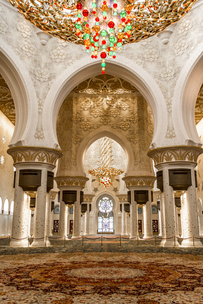 Sheikh Zayed Grand Mosque Carpet Amp Chandelier Quot The