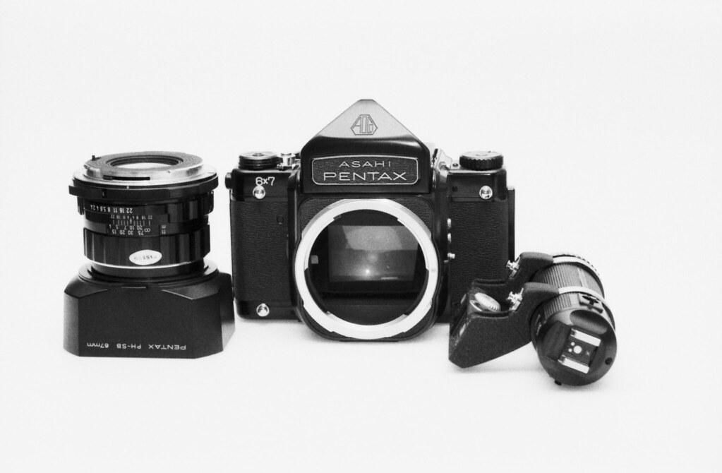 Pentax 6x7 MLU / S-M-C Takumar 6x7 105mm F2 4 | My trusty Pe… | Flickr