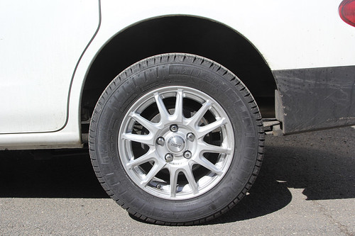 NV200 Wheel / Tire Setup | by w.lahara
