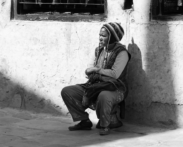 Street vendor in Bodhnath, Nepal