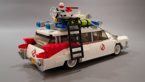 Lego Ghostbusters Ecto-1 Light Mod 04   by M600