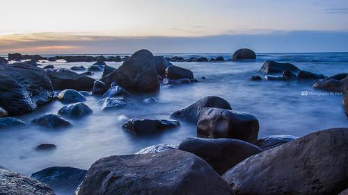 sunset white haven stone marina canon focus long exposure angle dusk rich wave 夕陽 manual 日落 石門 海浪 shimen 富貴角 白沙灣 黃昏 濱海 35mmf14 石頭 s35 24105mmf4 手動對焦 長曝 5dmarkiii sigamadg35mmf14hemart