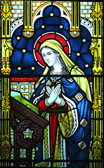 Blessed Virgin at the Annunciation