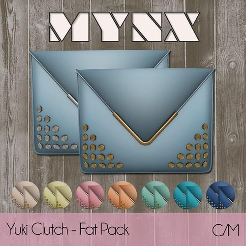 {MYNX} Yuki Clutch - Fat Pack