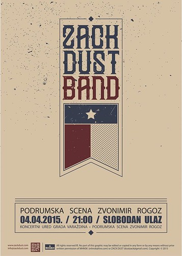 Zack Dust & band LIVE u Rogozu