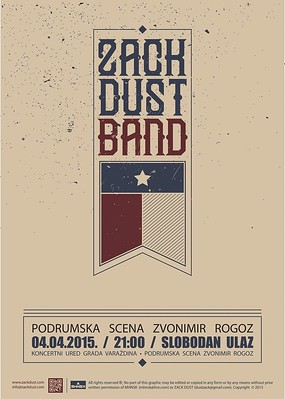 Zack Dust & band LIVE u Rogozu